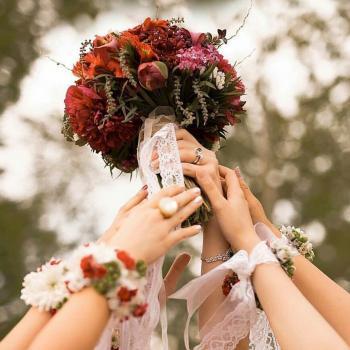 عکس پروفایل دسته گل عروس