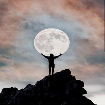 عکس پروفایل ماه زیبای آسمان