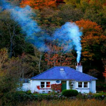 عکس پروفایل خانه ای در دل طبیعت