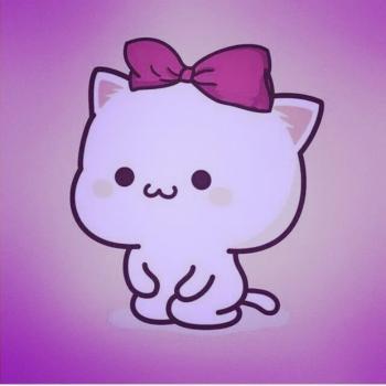 عکس پروفایل ست کارتونی گربه ای دخترونه