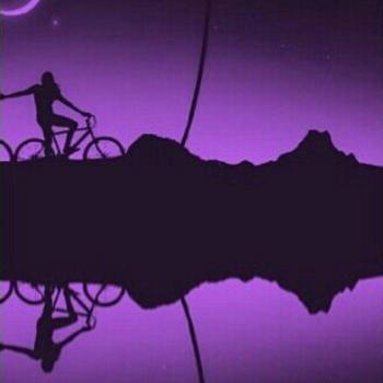 عکس پروفایل ست عاشقانه پسرانه دوچرخه سوار