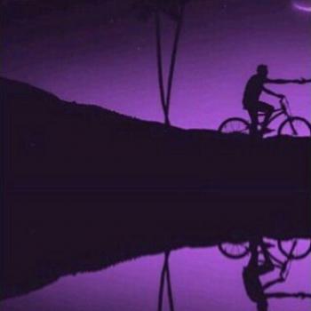 عکس پروفایل ست عاشقانه دخترانه دوچرخه سوار