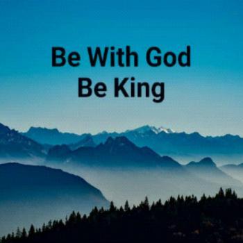 عکس پروفایل با خدا باش پادشاهی کن ️