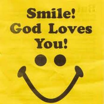 عکس پروفایل لبخند بزن خدا با تو است
