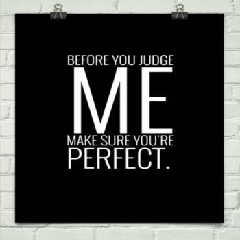 عکس پروفایل قبل از اینکه من رو قضاوت کنی اطمینان حاصل کن که خودت کاملی