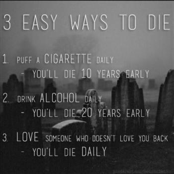 عکس پروفایل سه راه براى ساده مردن