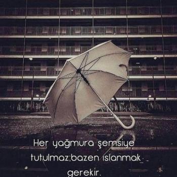عکس پروفایل واسه هر بارونی نمیشه چتر باز کرد
