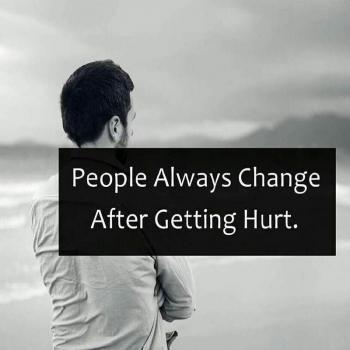 عکس پروفایل مردم همیشه بعد از اینکه آسیب می بینن