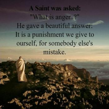عکس پروفایل از قدیسی پرسیدند :خشم چیست ؟