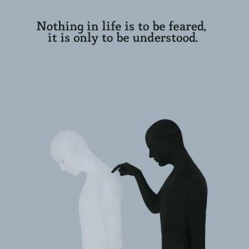 عکس پروفایل هیچ چیز تو زندگی ترس نداره فقط باید فهمیده بشه