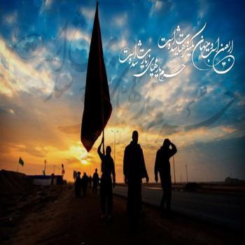 عکس پروفایل امام صادق (ع)هركس به زیارت قبر امام حسین (ع)