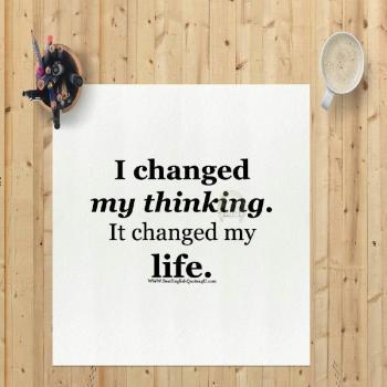عکس پروفایل انگلیسی افكارم رو تغییر دادم اونها هم زندگیم رو تغییر دادن