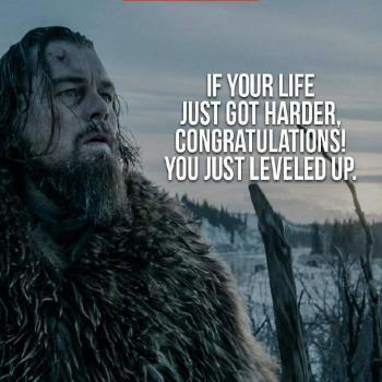 عکس پروفایل انگلیسی اگه زندگیت کمی سختتر شده بهت تبریک میگم چون