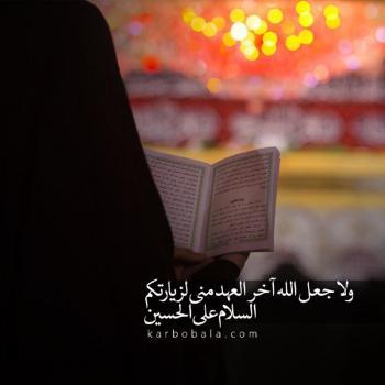 عکس پروفایل مذهبی امام حسین (ع)هرگز سخن بیهوده مگوی زیرا بیم