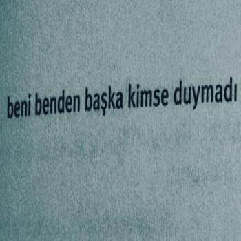عکس پروفایل ترکیه ای منو جز خودم هیشی درک نکرد