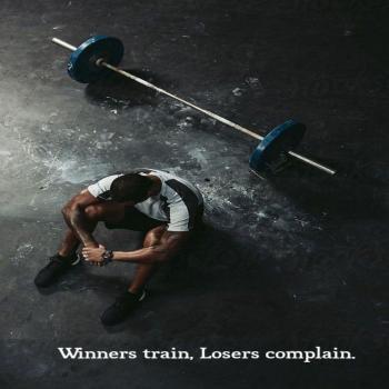 عکس پروفایل انگیزشی برندهها تمرین میکنن بازندهها شکایت میکنن