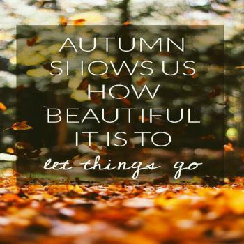 عکس پروفایل انگلیسی پاییز نشان میدهد چقدر زیباست که اجازه بده