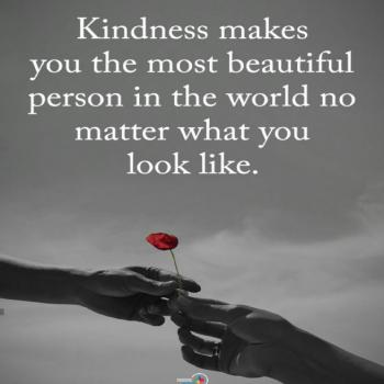 عکس پروفایل انگلیسی مهربانی تو را زیباترین آدم دنیا میکند مهم نیست