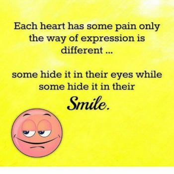 عکس پروفایل انگلیسی هر قلبی درد هایی دارد که به شیوه های متفاوتی