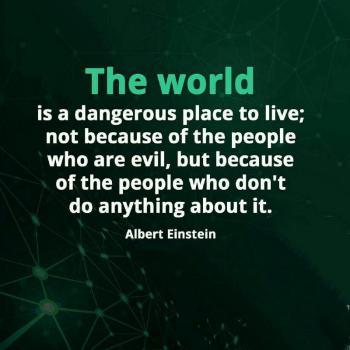عکس پروفایل انگلیسی دنیا جای خطرناکیه اما نه به خاطر وجود آدمای