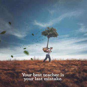 عکس پروفایل انگیزشی بهترین معلمت آخرین اشتباهته