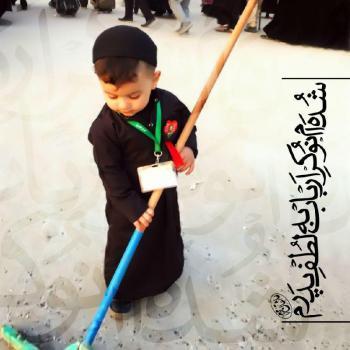 عکس پروفایل مذهبی امام حسین (ع) اگر صد فرزند برای من متولّد ش