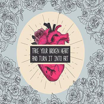 عکس پروفایل انگلیسی قلب شکسته خود را بگیرید و آن را به هنر تبدیل کنید:))