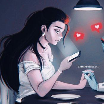 عکس پروفایل ست دختر پیامک عاشقانه