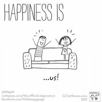 عکس پروفایل انگلیسی Happiness is us