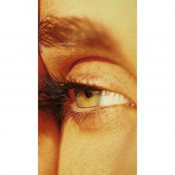 عکس پروفایل ست نگاه عاشقانه چشم روشن دختر