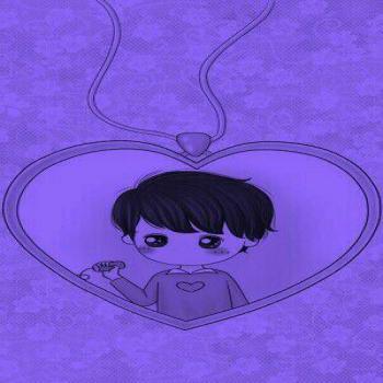 عکس پروفایل ست کارتونی پسر در قلب