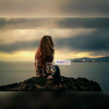 عکس پروفایل ست دخترانه غروب غمگین