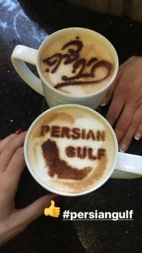 استوری خلیج فارس persiangulf در فنجان کاپوچینو