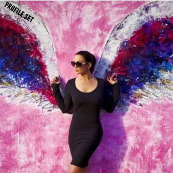 عکس پروفایل ست بال فرشته دختر