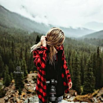 عکس پروفایل ست دخترونه دختر در طبیعت