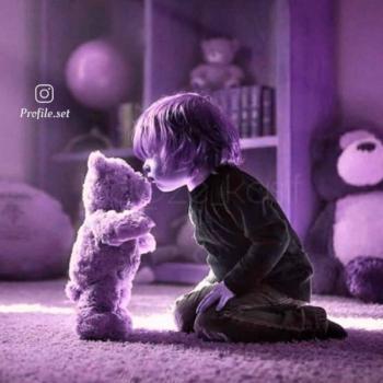 عکس پروفایل ست کودکانه پسر با خرس