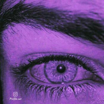 عکس پروفایل ست چشم رنگی غمگین پسر