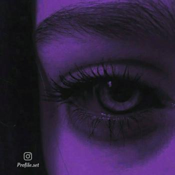 عکس پروفایل ست چشمان رنگی غمگین دخترانه