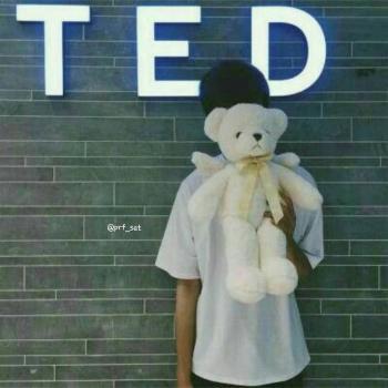 عکس پروفایل ست پسر با عروسک تد برای ولنتاین