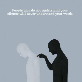 عکس پروفایل انگلیسی کسایی که سکوت تو رو نمیفهمن امکان نداره حرفای تو رو هم بفهمن