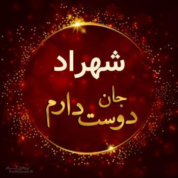 عکس پروفایل شهراد جان دوست دارم