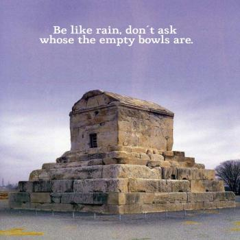 عکس پروفایل انگلیسی باران باش و ببار و نپرس کاسه های خالی از آن کیست