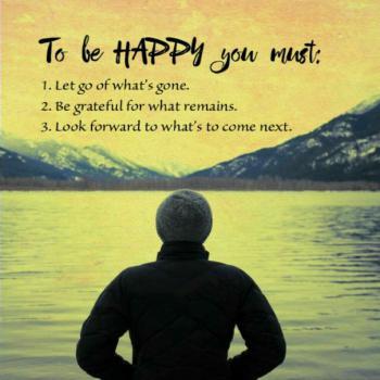 عکس پروفایل انگلیسی برای شاد بودن باید :١- هرآنچه بود را رها