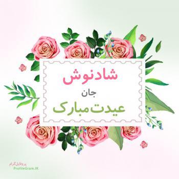 عکس پروفایل شادنوش جان عیدت مبارک