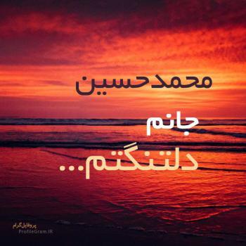 عکس پروفایل محمدحسین جانم دلتنگتم