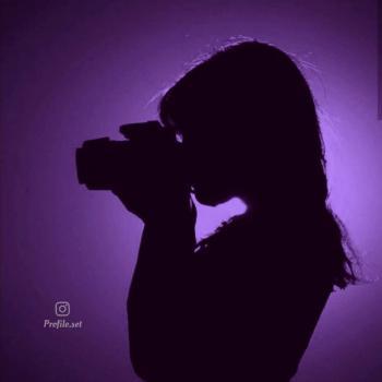عکس پروفایل ست سایه دختر عکاس