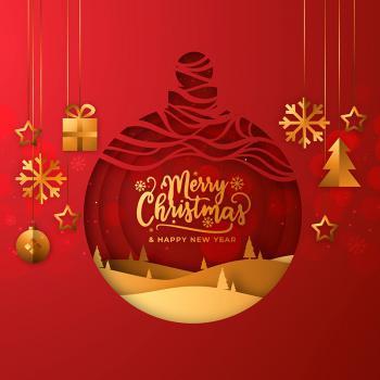 عکس پروفایل تبریک کریسمس و سال نو میلادی انگلیسی