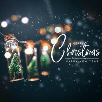 عکس پروفایل کریسمس برفی انگلیسی زیبا