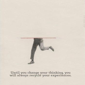 عکس پروفایل انگلیسی تا وقتی طرز فکرت رو تغییر ندی تجربههای قبلیت تکرار میشن