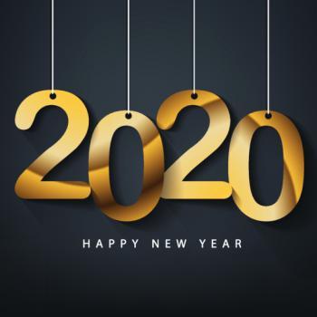 عکس پروفایل تبریک سال 2020 میلادی